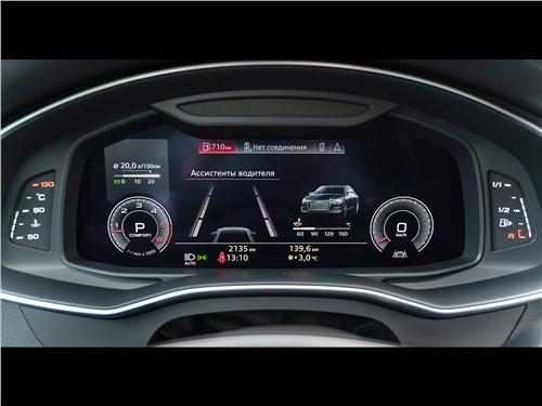 Audi A6 45 TDI (2020) приборная панель