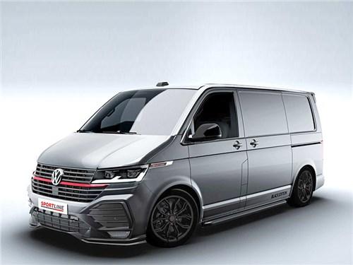 Новость про Volkswagen Transporter - Volkswagen Transporter T6.1 Sportline