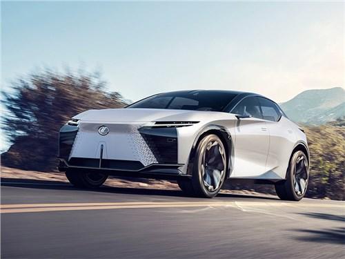 Lexus рассекретил интересный концепт