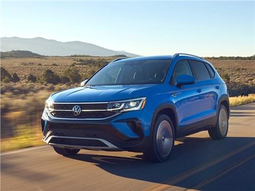 Volkswagen Taos для России: подробности