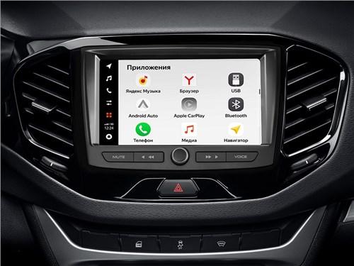 Новость про Lada - Автомобили Lada обзавелись новой мультимедийной системой