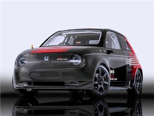 Электрокар Honda-e превратили в болид