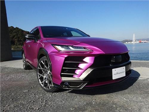 Новость про Toyota - Toyota Harrier стало возможным превратить в Lamborghini Urus