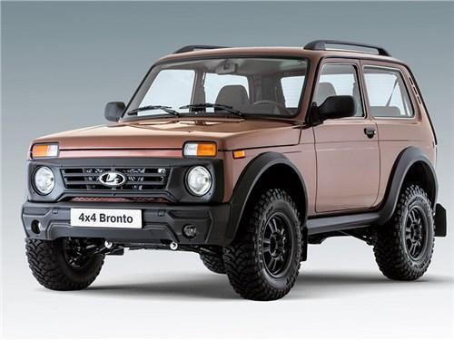 Lada 4x4 Bronto готовится к обновлению