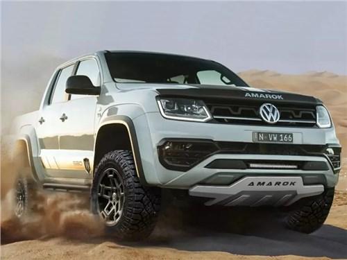 Volkswagen Amarok подготовят к серьезному бездорожью