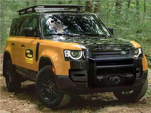 Новость про Land Rover Defender 90 - Land Rover Defender Trophy