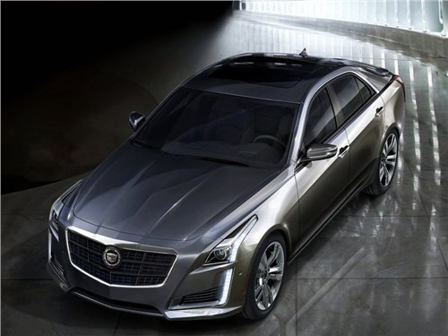 Cadillac обновил седан CTS для российского рынка
