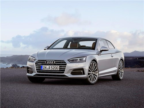 Audi показала новое поколение купе A5
