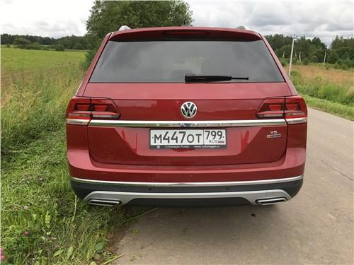Volkswagen Teramont 2018 вид сзади