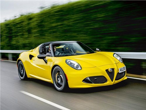 Новость про Alfa Romeo 4C - Alfa Romeo 4C