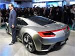 Новость про Honda - Honda представила в Детройте концептуальное купе
