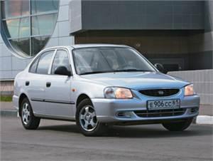Renault Logan, Hyundai Accent, Daewoo Nexia