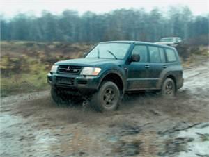 Nissan Patrol, Mitsubishi Pajero, Toyota Land Cruiser