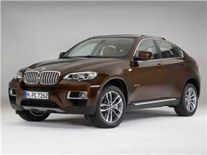 BMW X6 в новом свете