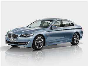 Новый BMW 5 series - Озеленение