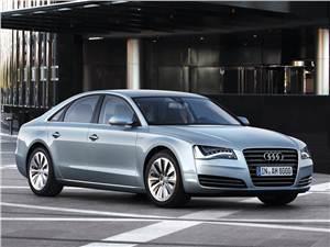 Новый Audi A8 - Серебро флагмана