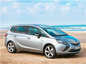 Новый Opel Zafira - Спортсменка
