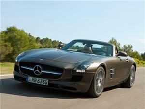 Новый Mercedes-Benz SLS AMG - Без крыши и без крыльев