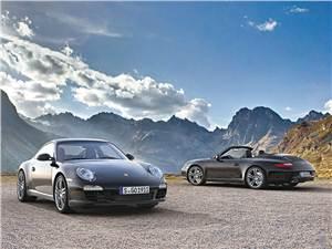 Новый Porsche 911 Carrera - Уход в черное