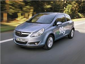 Новый Opel Corsa - Позеленевший
