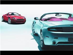 Новый Aston Martin V8 Vantage - Английская элегантность