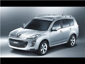 """Новый Peugeot 4007 - Первые внедорожники от """"Peugeot"""" и """"Citroёn"""""""