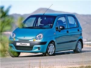 Меньше некуда (Daewoo Matiz, Chevrolet Spark, Kia Picanto) Matiz -