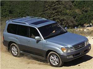 Аристократы бездорожья (Range Rover, Lexus LХ470, Mercedes-Benz G-Klasse) LX