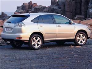 Элитное подразделение (Lexus RX300, Infiniti QX4, Acura MDX) RX -