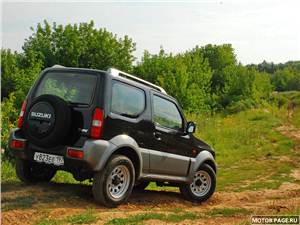 Серьезные игрушки (Daihatsu Terios, Suzuki Jimny, Mitsubishi Pajero Pinin) Jimny -