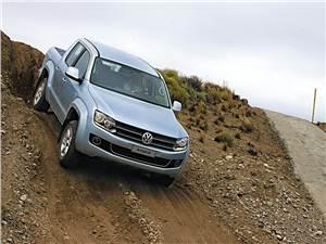 Volkswagen Amarok - Volkswagen Amarok 2010 тест на уклоне