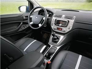 Предпросмотр ford kuga 2008 передняя часть салона фото 1