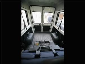 Предпросмотр fiat ducato 2002 багажное отделение при сложенном третьем ряде сидений