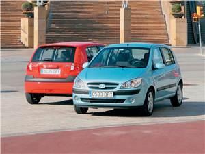 Дети мегаполиса (Peugeot 206, Ford Fiesta, Hyundai Getz, Opel Corsa) Getz -