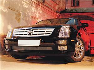 Трое старших (Chrysler 300C, Cadillac STS, Lincoln Town Car) STS -
