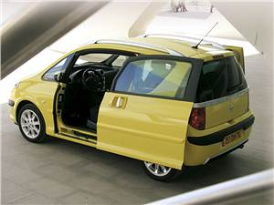Высокая крыша (Honda Jazz, Mercedes-Benz A-Klasse, Peugeot 1007, Mitsubishi Colt, Renault Modus) 1007 -