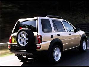 По дорогам и не только.. (Toyota RAV4, Honda CR-V, Land Rover Freelander (95-02 гг.)) Freelander -