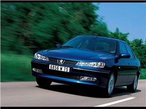 Французское трио (Peugeot 406, Renault Laguna, Renault Laguna II, Citroen Xantia, Citroen C5) 406