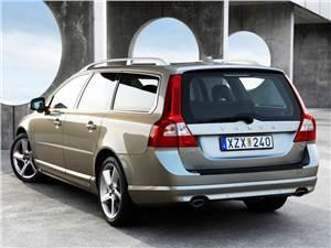 Дизельный марш (V70, XC70, XC90 - 2.4 D5) V70 - Volvo V70 2007 получил оригинальные задние фонари