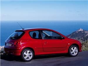 Малолитражки второго эшелона (Peugeot 206, Renault Clio II, Fiat Punto) 206 -