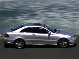 Летом лучше без крыши (Обзор российского рынка открытых автомобилей - 2007) CLK-Class -