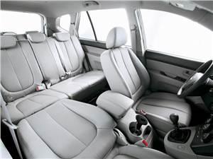 На все случаи жизни (Daewoo Tacuma (Rezzo), Hyundai Matrix (Lavita), Kia Carens) Carens - Интерьер KIA Carens
