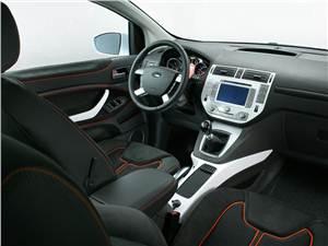 Предпросмотр ford kuga 2008 передняя часть салона фото 2