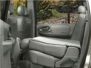 Предпросмотр chevrolet trailblazer 2001 трансформация заднего дивана