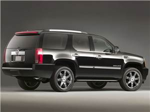 Сухопутные дредноуты (Chevrolet Tahoe, GMC Yukon, Cadillac Escalade, Ford Expedition, Lincoln Navigator) Escalade -