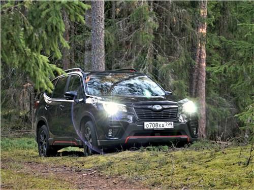 Subaru Forester Sport (2019) вид спереди