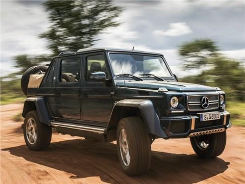 Новость про Mercedes-Benz G-Class - Mercedes-Benz анонсировал появление топовой версии G-Class на российском рынке