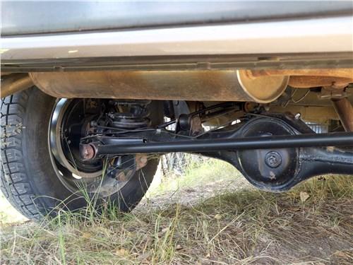 Lada 4x4 2017 задняя подвеска