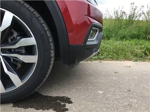 Volkswagen Teramont 2018 передний свес
