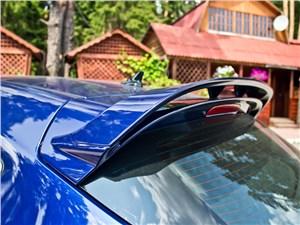 Opel Astra OPC 2013 спойлер